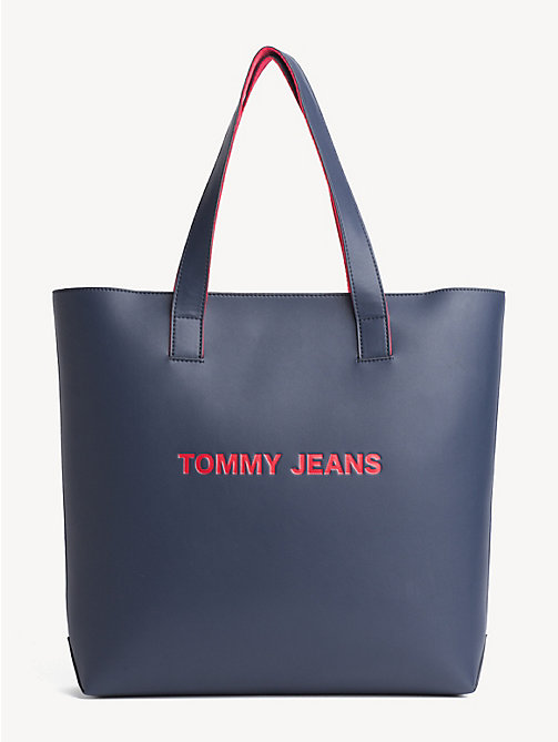 TOMMY JEANS TJ Modern Charm Tote - BLACK IRIS - TOMMY JEANS Shoes & Accessories - main image