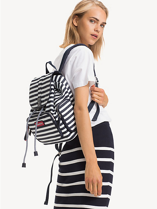 TOMMY HILFIGER Varsity Stripe Backpack - STRIPE - TOMMY HILFIGER Backpacks - detail image 1