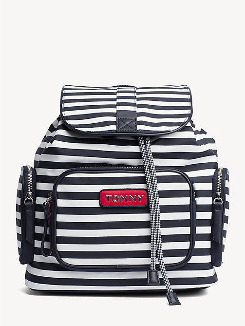 TOMMY HILFIGER Varsity Stripe Backpack - STRIPE - TOMMY HILFIGER Backpacks - main image