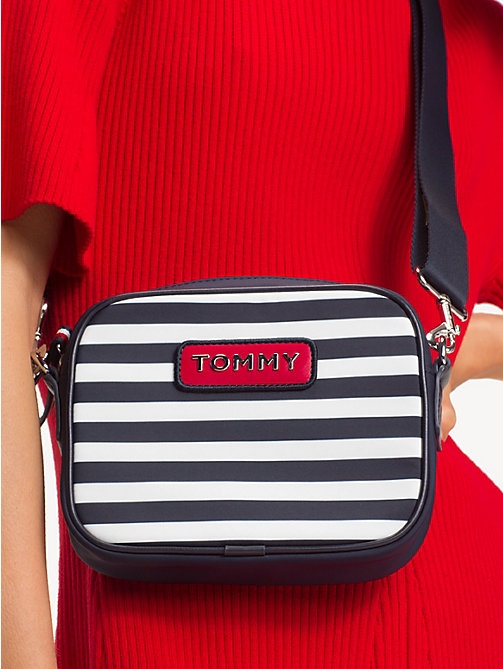 TOMMY HILFIGER Varsity Stripe Crossbody Bag - STRIPE - TOMMY HILFIGER Crossbody Bags - detail image 1