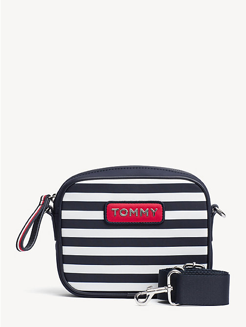 TOMMY HILFIGER Varsity Stripe Crossbody Bag - STRIPE - TOMMY HILFIGER Crossbody Bags - main image