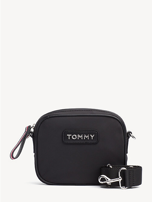 TOMMY HILFIGER Varsity Crossbody Bag - BLACK - TOMMY HILFIGER Crossbody Bags - main image