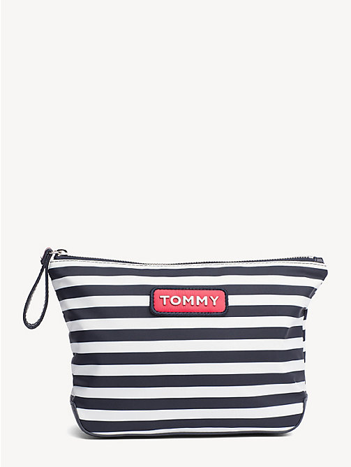 TOMMY HILFIGER Varsity Stripe Washbag - STRIPE - TOMMY HILFIGER Make-up Bags - main image