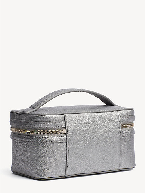 TOMMY HILFIGER TH Core Cosmetics Bag - PEWTER - TOMMY HILFIGER NEW IN - detail image 1