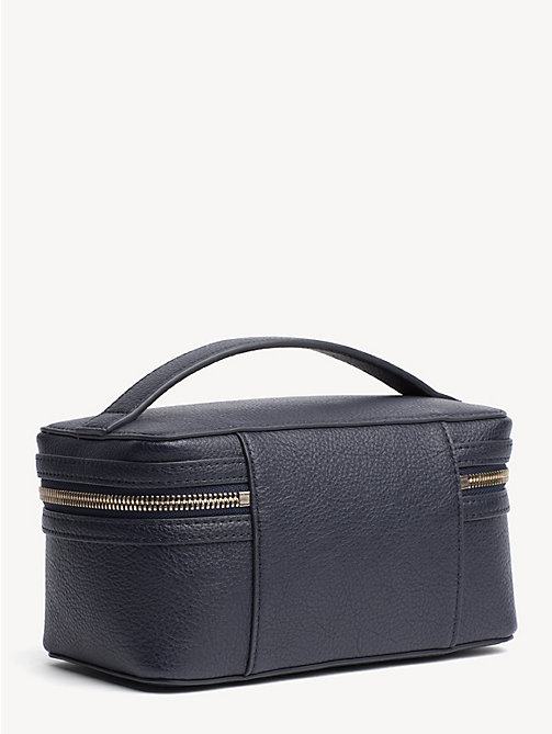 TOMMY HILFIGER TH Core Cosmetics Bag - TOMMY NAVY - TOMMY HILFIGER Make-up Bags - detail image 1