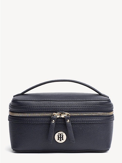 TOMMY HILFIGER TH Core Cosmetics Bag - TOMMY NAVY - TOMMY HILFIGER Stocking Stuffers - main image