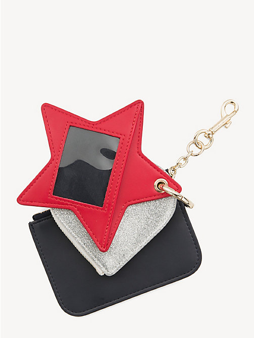 TOMMY HILFIGER Heart and Star Bag Charm - CORPORATE - TOMMY HILFIGER Keyrings - detail image 1