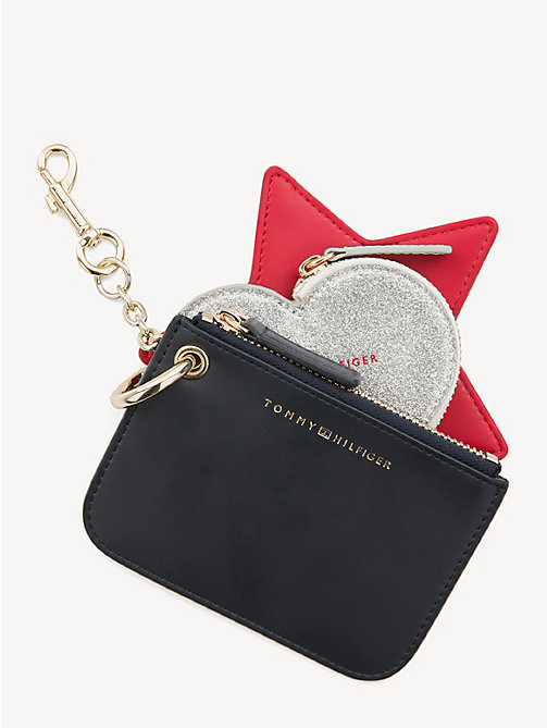 TOMMY HILFIGER Heart and Star Bag Charm - CORPORATE - TOMMY HILFIGER Keyrings - main image