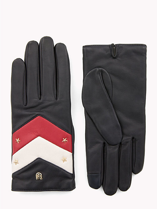 TOMMY HILFIGER Chevron Mascot Gloves - CORPORATE - TOMMY HILFIGER Black Friday Women - main image