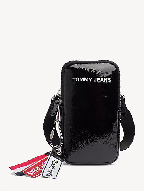 TOMMY JEANS TJ Modern Phone Case - BLACK - TOMMY JEANS Shoes & Accessories - main image