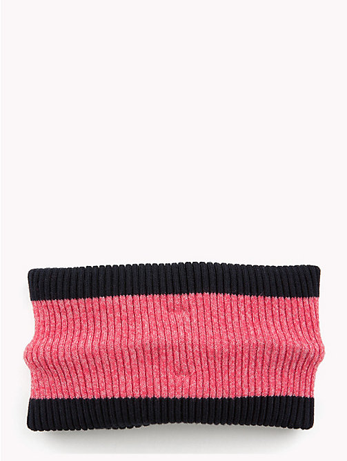 TOMMY HILFIGER Kids' Knot Headband - TEABERRY - TOMMY HILFIGER Shoes & Accessories - detail image 1