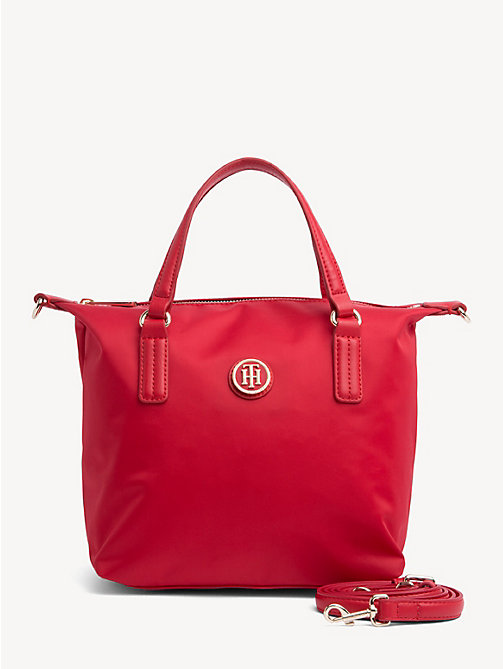 TOMMY HILFIGER Small Crossover Tote Bag - TOMMY RED - TOMMY HILFIGER Tote Bags - main image