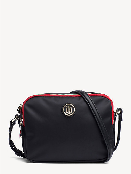 TOMMY HILFIGER Small Crossover Bag - BLACK - TOMMY HILFIGER Crossbody Bags - main image