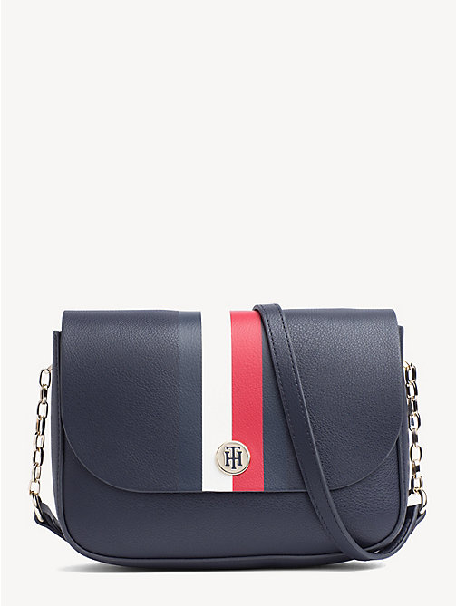 9dbc7137a5e25 TOMMY HILFIGERReversible Metallic Flap Crossover Bag. £120.00