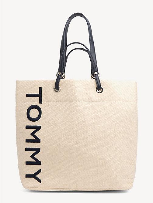5069a1f71b7d9 TOMMY HILFIGERRaffia Tote Bag