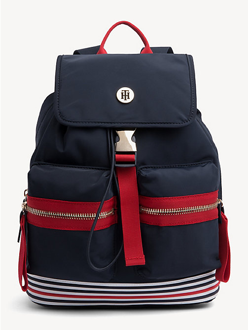 fe569465cde TOMMY HILFIGERSmall Textile Backpack. £105.00