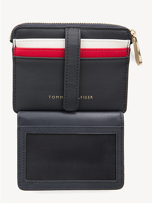 TOMMY HILFIGER Monogram Credit Card Holder - CORPORATE - TOMMY HILFIGER Wallets - detail image 1