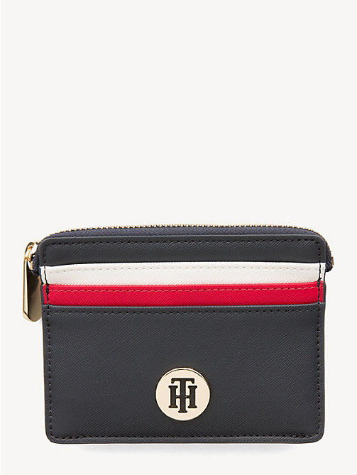 TOMMY HILFIGER Monogram Credit Card Holder - CORPORATE - TOMMY HILFIGER Wallets - main image
