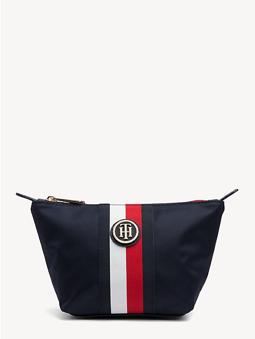 TOMMY HILFIGER Monogram Make-Up Case - CORPORATE - TOMMY HILFIGER Make-up Bags - main image