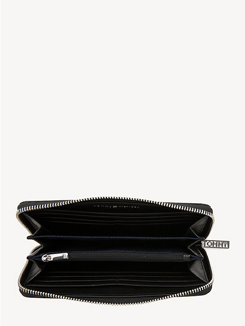 TOMMY HILFIGER Large Zip-Around Wallet - BLACK - TOMMY HILFIGER Wallets - detail image 1