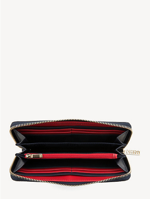 TOMMY HILFIGER Large Zip-Around Wallet - CORPORATE - TOMMY HILFIGER Wallets - detail image 1