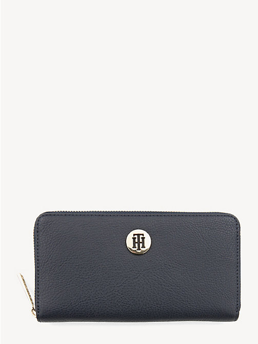 TOMMY HILFIGER Large Zip-Around Wallet - CORPORATE - TOMMY HILFIGER Wallets - main image
