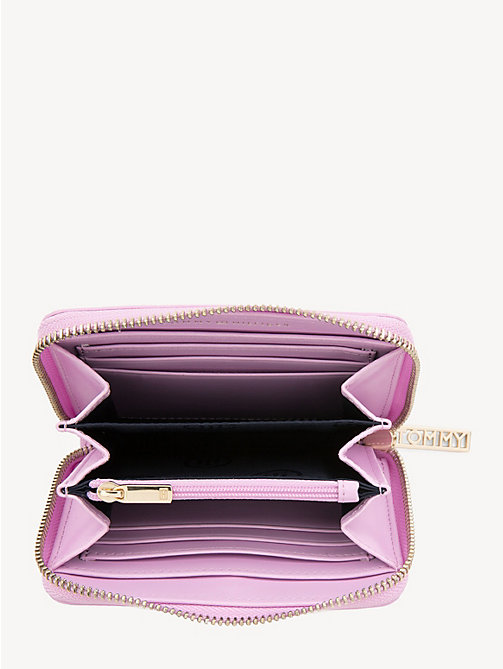 TOMMY HILFIGER TH Core Zip-Around Wallet - PINK LAVENDER - TOMMY HILFIGER Wallets - detail image 1