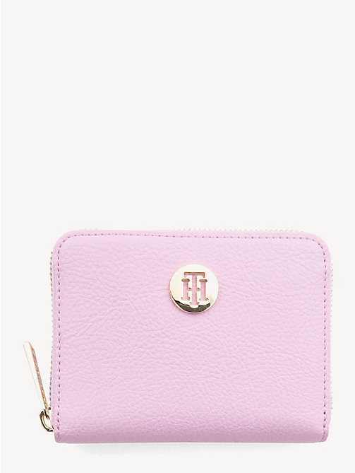 TOMMY HILFIGER TH Core Zip-Around Wallet - PINK LAVENDER - TOMMY HILFIGER Wallets - main image