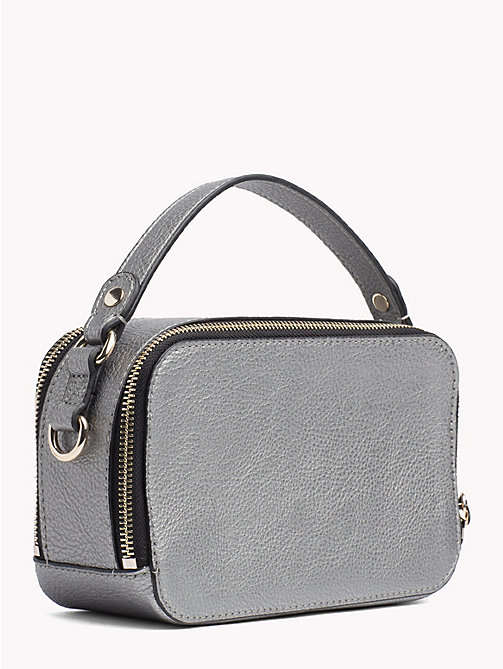 TOMMY HILFIGER Cool Tommy Mini Trunk Bag - PEWTER - TOMMY HILFIGER Party Looks - detail image 1