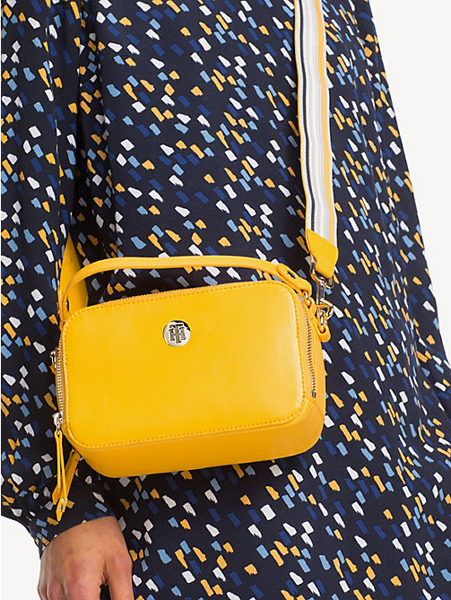 TOMMY HILFIGER Cool Tommy Mini Trunk Bag - CITRUS - TOMMY HILFIGER Crossbody Bags - detail image 1