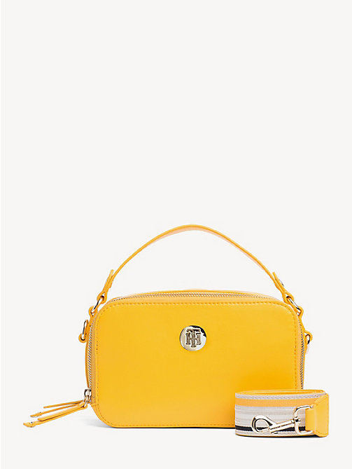 TOMMY HILFIGER Cool Tommy Mini Trunk Bag - CITRUS - TOMMY HILFIGER Crossbody Bags - main image