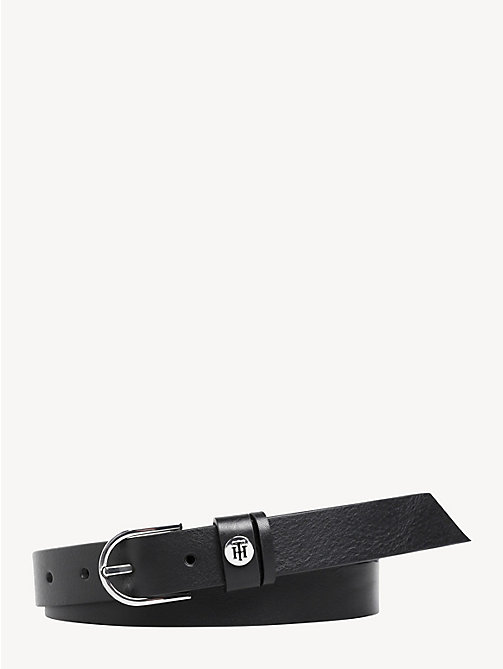 TOMMY HILFIGER Classic Leather Belt - BLACK - TOMMY HILFIGER Belts - main image