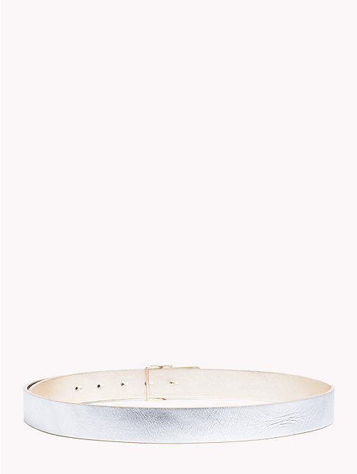 TOMMY HILFIGER Reversible Leather Belt - GOLD/ SILVER - TOMMY HILFIGER Belts - detail image 1