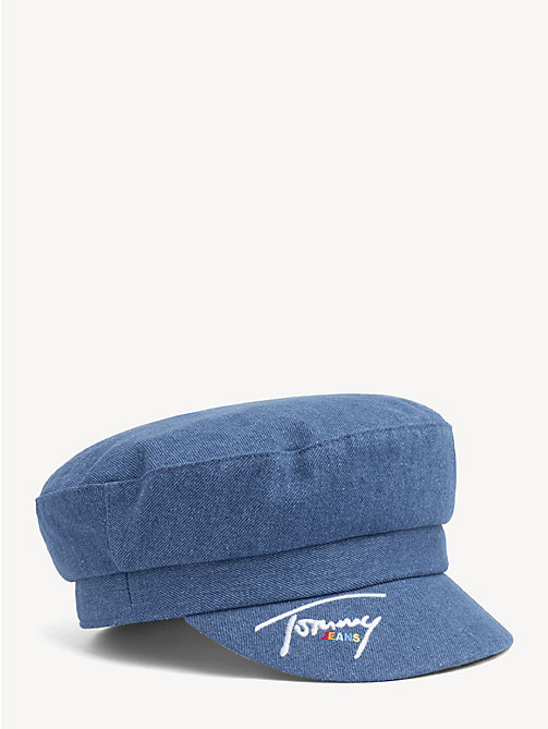 TOMMY JEANS Denim baker boy-pet - DENIM - TOMMY JEANS Schoenen & Accessoires - main image