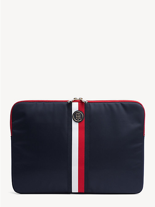 TOMMY HILFIGER Signature Tape Laptop Sleeve - CORPORATE - TOMMY HILFIGER Satchel Bags - main image