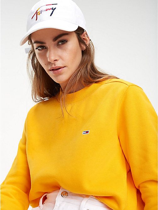TOMMY JEANS Multicolour Signature Logo Cap - BRIGHT WHITE - TOMMY JEANS Shoes & Accessories - detail image 1