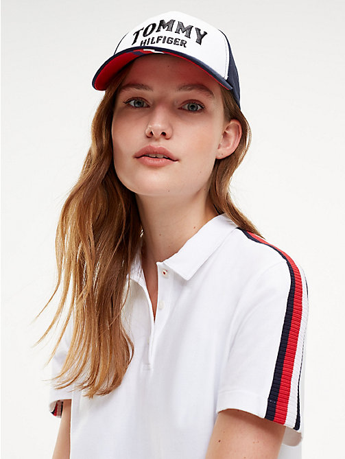 TOMMY HILFIGER Contrast Panel Logo Cap - CORPORATE - TOMMY HILFIGER Caps & Beanies - detail image 1