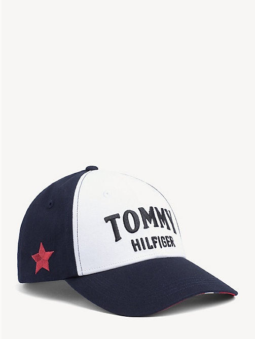 TOMMY HILFIGER Contrast Panel Logo Cap - CORPORATE - TOMMY HILFIGER Caps & Beanies - main image