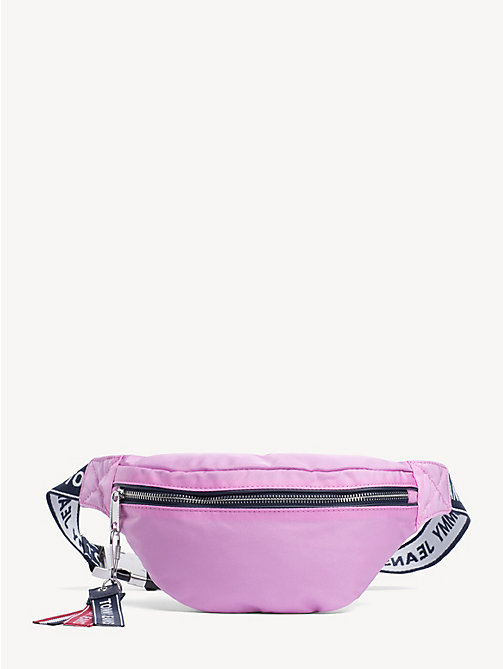 TOMMY JEANS Tommy Jeans Logo Bumbag - LILAC CHIFFON - TOMMY JEANS Bags - main image