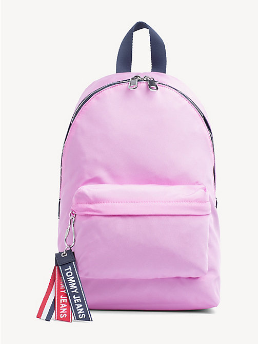 TOMMY JEANS Tommy Jeans Logo Backpack - LILAC CHIFFON - TOMMY JEANS Backpacks - main image