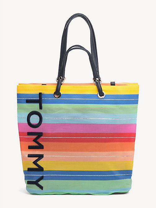 87379ed02b227 TOMMY HILFIGERMulticolour Stripe Tote Bag