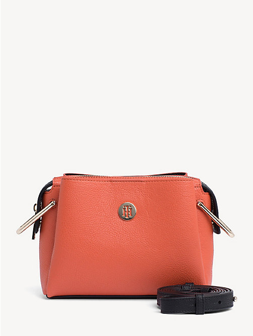 e9fc57be1 orange th core small crossover bag for women tommy hilfiger