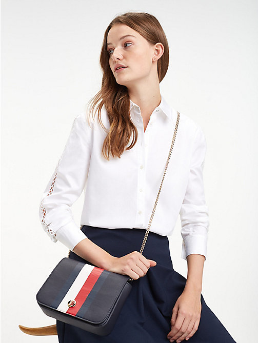 TOMMY HILFIGER Crossovertas met monogram - CORPORATE - TOMMY HILFIGER Crossbodytassen - detail image 1
