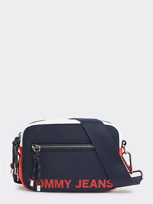 ba25907d multi tjw item colour-blocked crossover bag for women tommy jeans