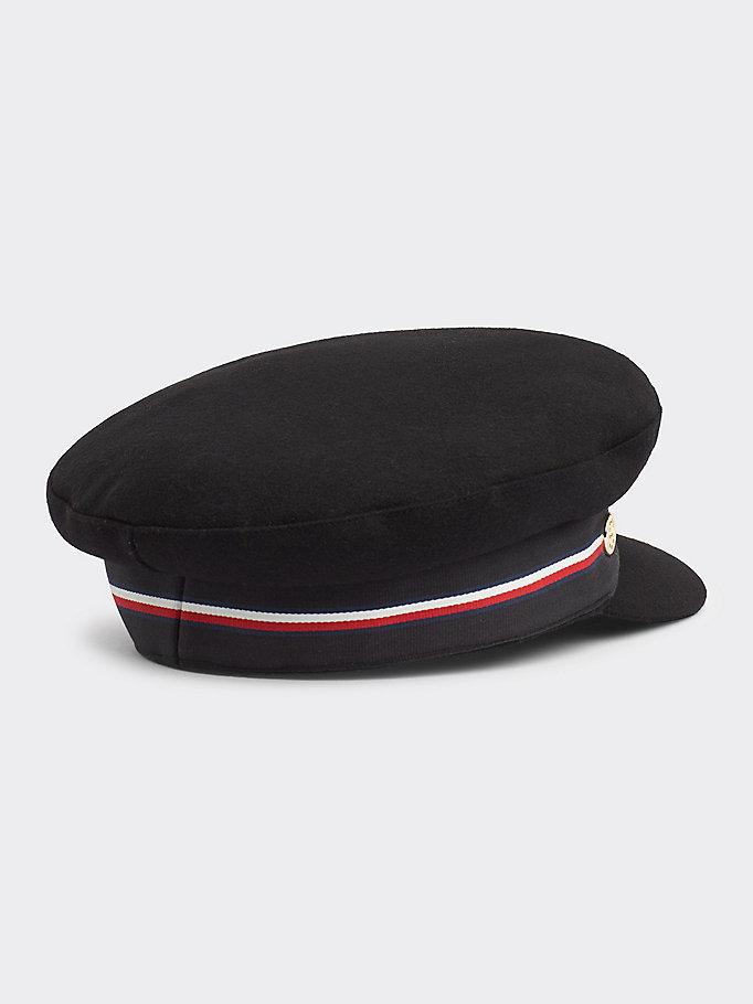 belle scarpe il più economico nuovi arrivi Cappello baker boy | NERO | Tommy Hilfiger