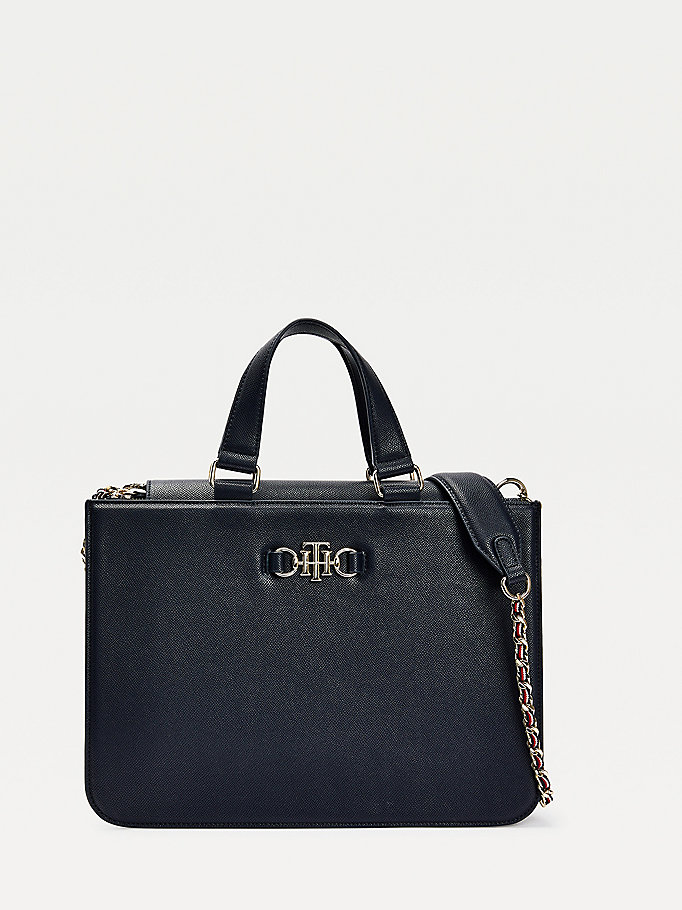 blau th club tote-bag für damen - tommy hilfiger