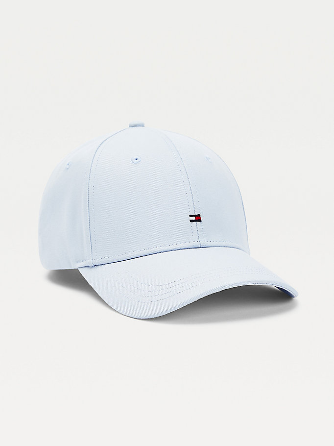 blue flag embroidery baseball cap for women tommy hilfiger