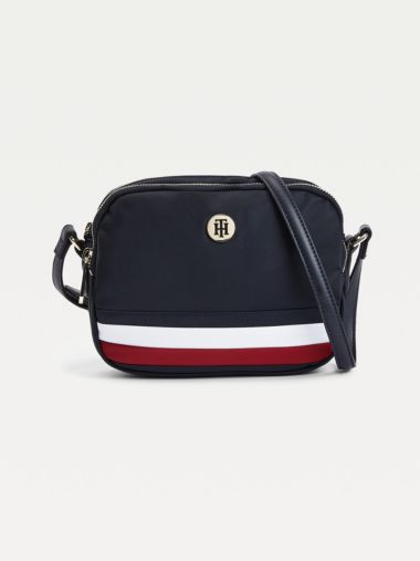 Recycled Signature Crossover Bag