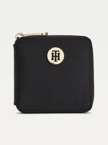 Mittelgroße Reißverschluss-Brieftasche