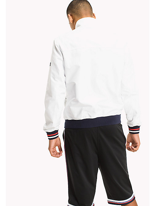 TOMMY JEANS Nylon Bomber Jacket - CLASSIC WHITE - TOMMY JEANS MEN - detail image 1
